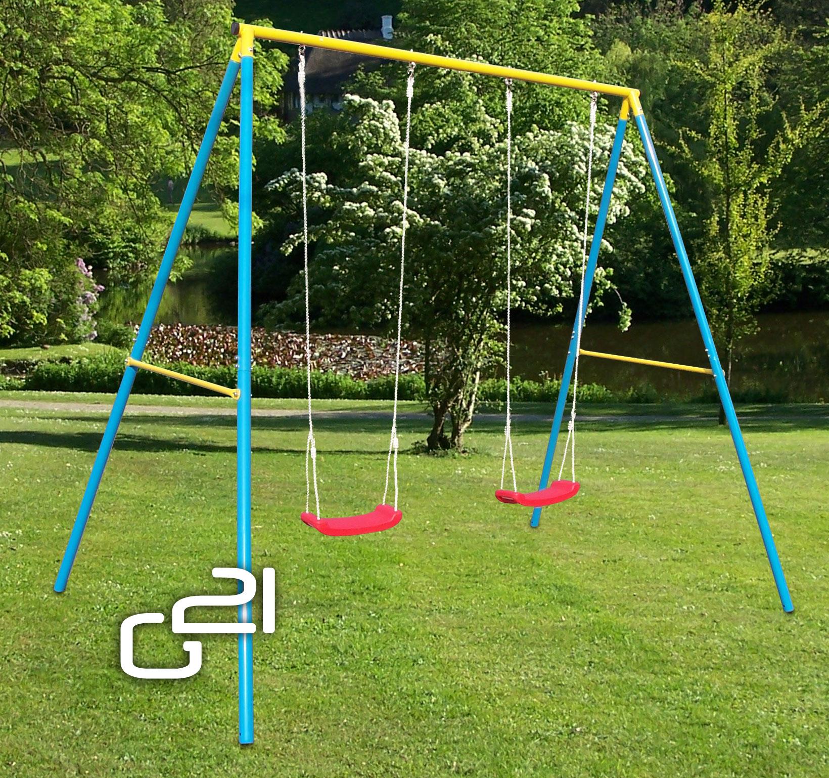 Zahradní houpačka G21 pro 2 děti + doprava zdarma