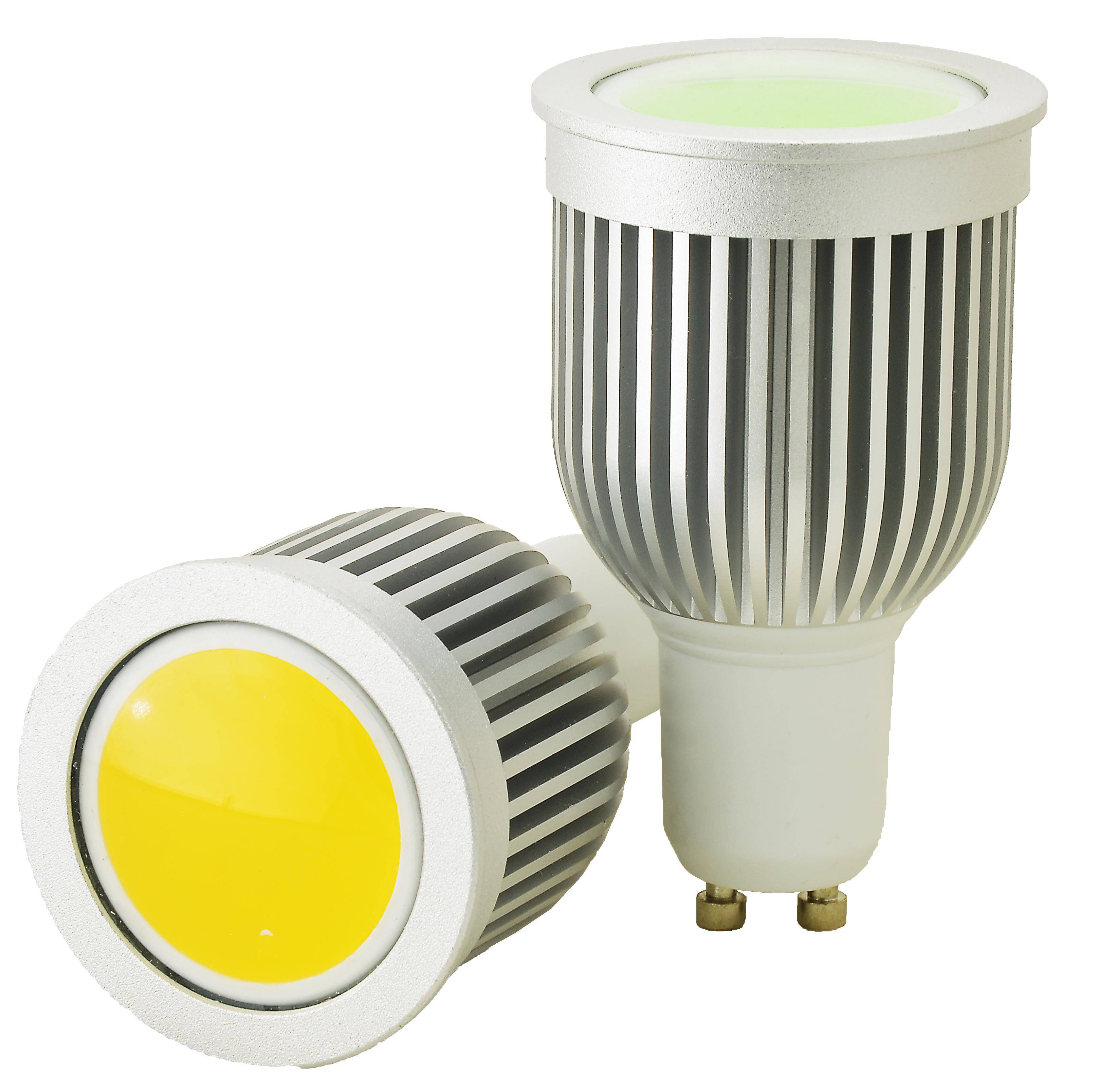 Žárovka G21 LED GU10-COB, 230V, 5W, 400lm, bílá