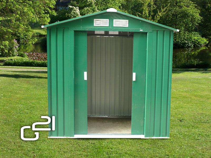 Zahradní domek G21 GAH 327 - 191 x 171 cm, zelený + DÁREK ZDARMA dle vlastního výběru !