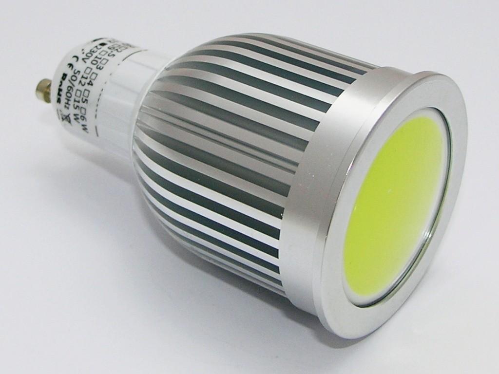Žárovka G21 LED GU10-COB, 230V, 7W, 560lm, bílá, stmívatelná