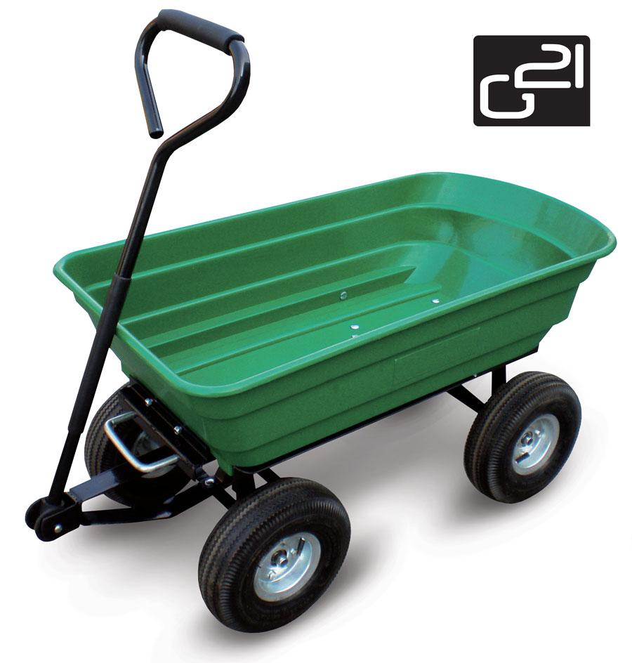 Zahradní vozík G21 GA 125 + doprava zdarma