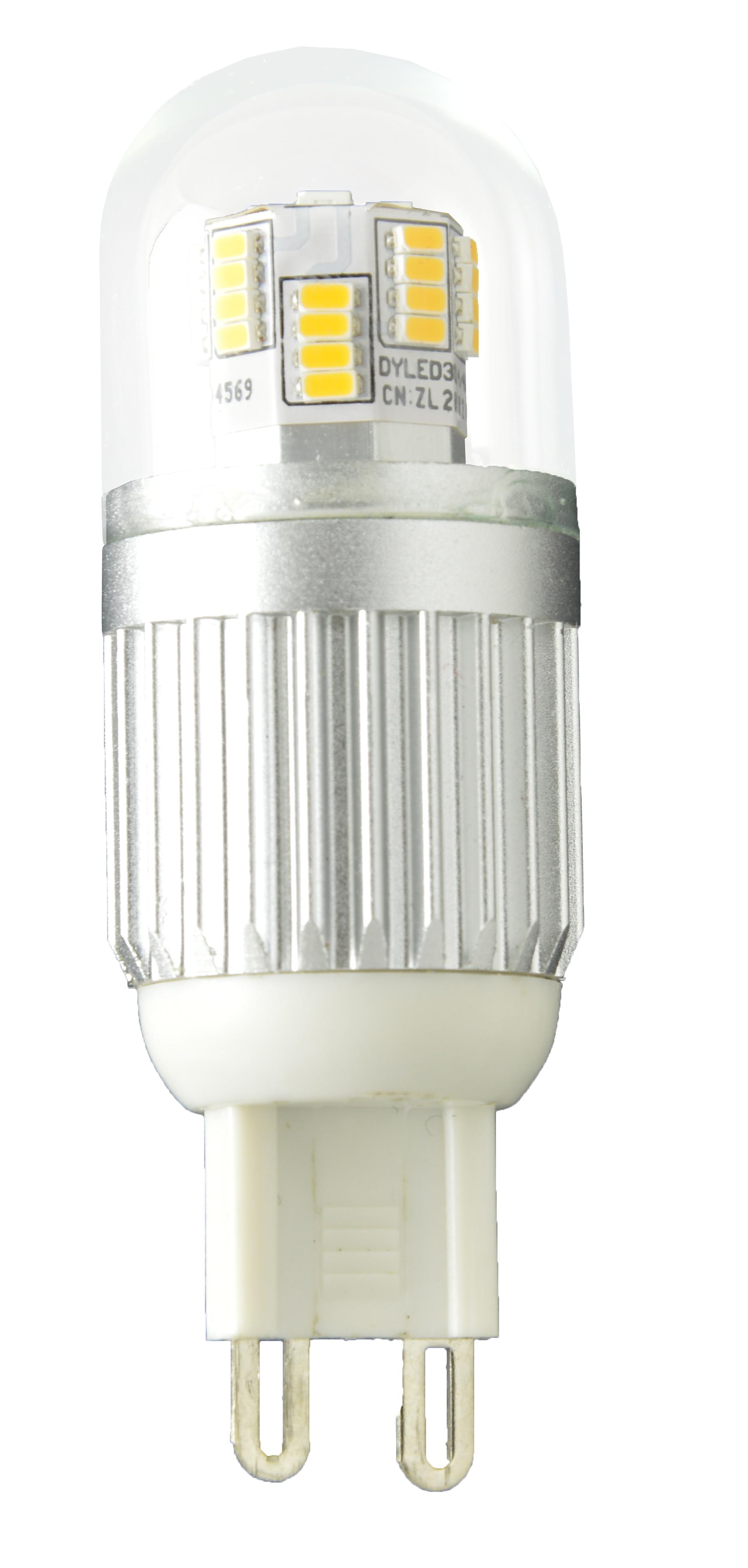 Žárovka G21 LED G9, 230V, 4W, 320lm, přírodní bílá