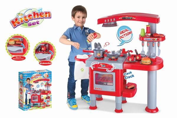 Dětská kuchyňka G21 velká s příslušenstvím + doprava zdarma