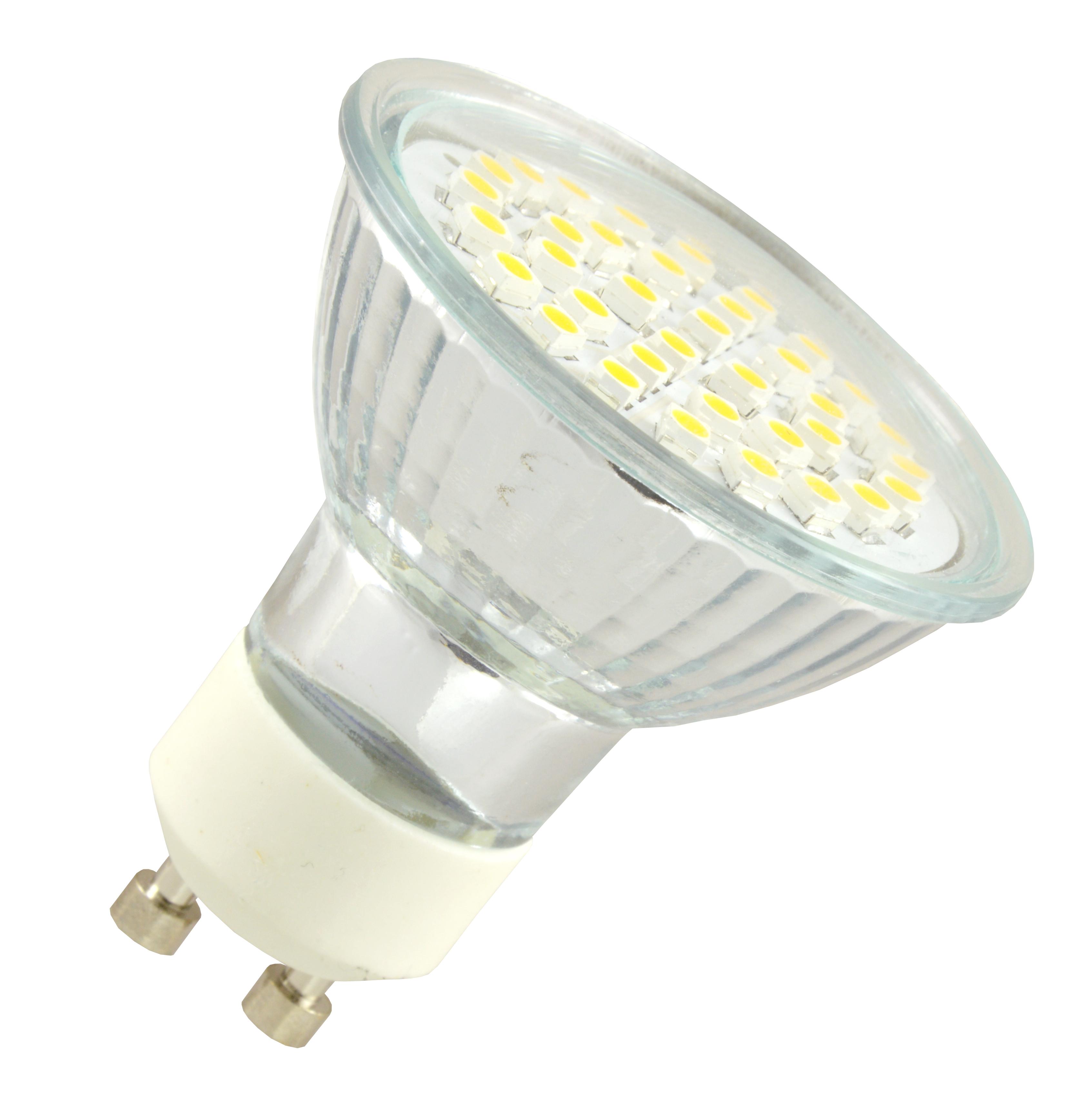 Žárovka G21 LED GU10 36 SMD2835, 230V, 4W, 360lm, bílá