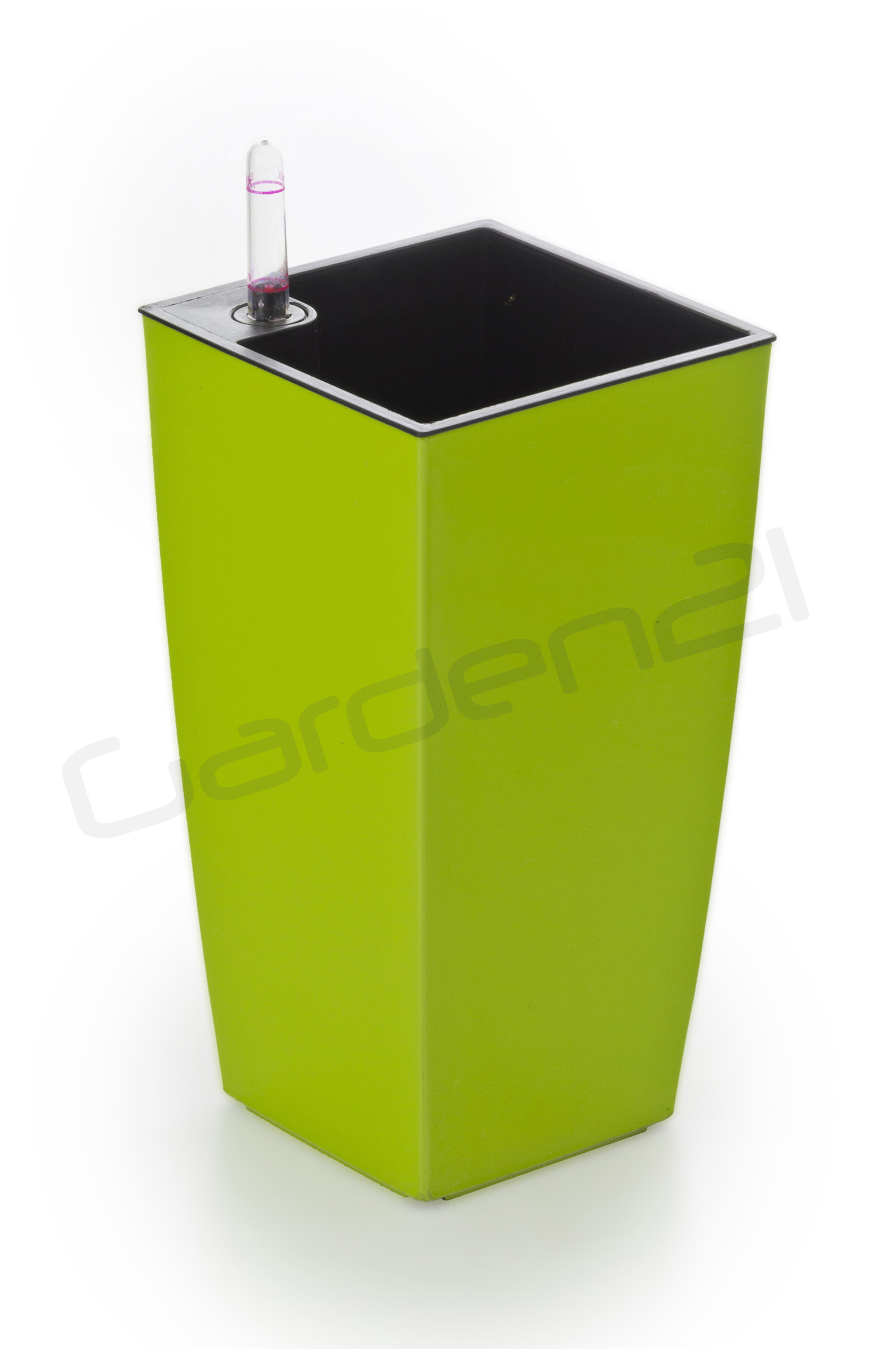 Samozavlažovací květináč G21 Linea mini zelený 14cm