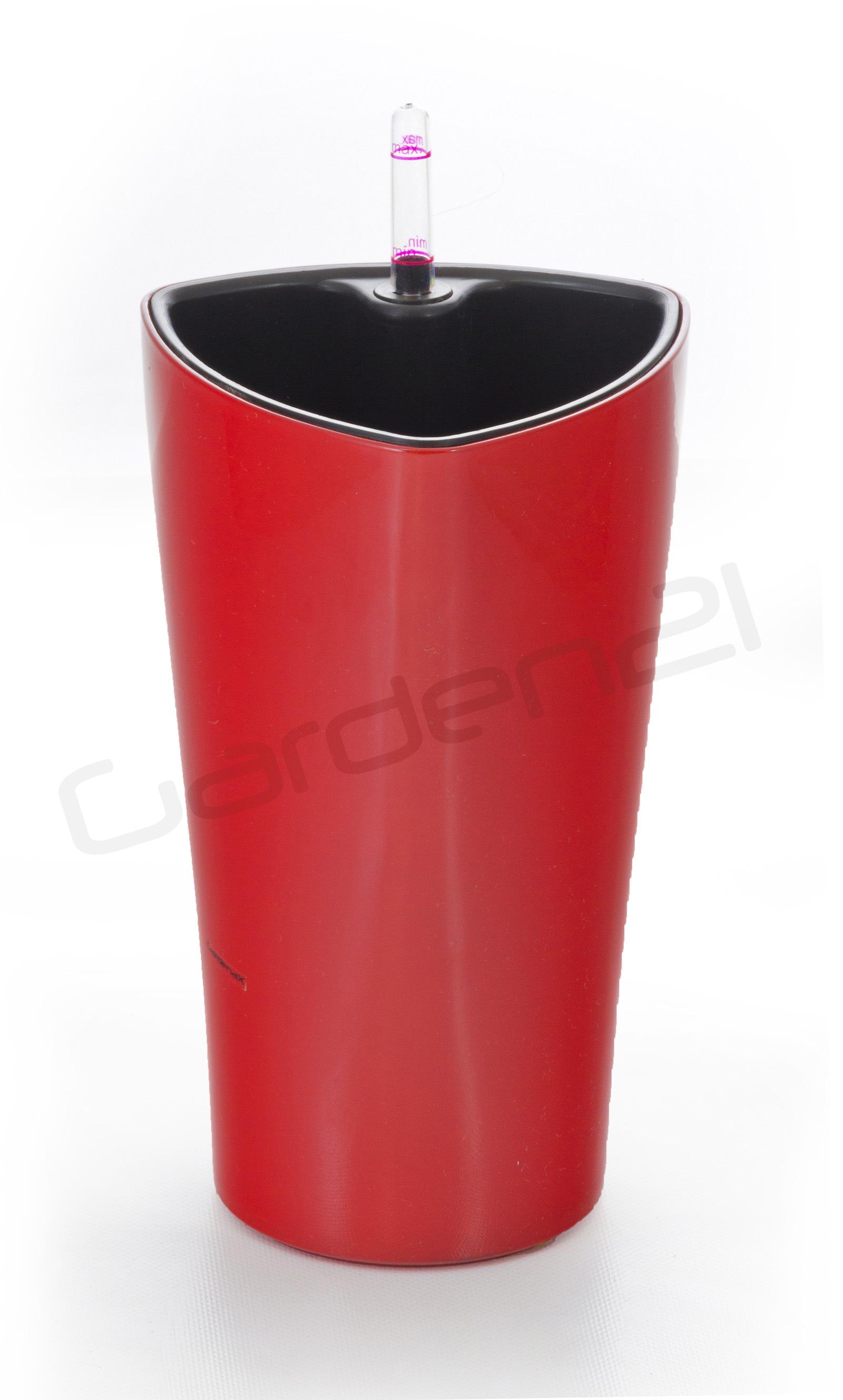 Samozavlažovací květináč G21 Trio mini červený 15cm