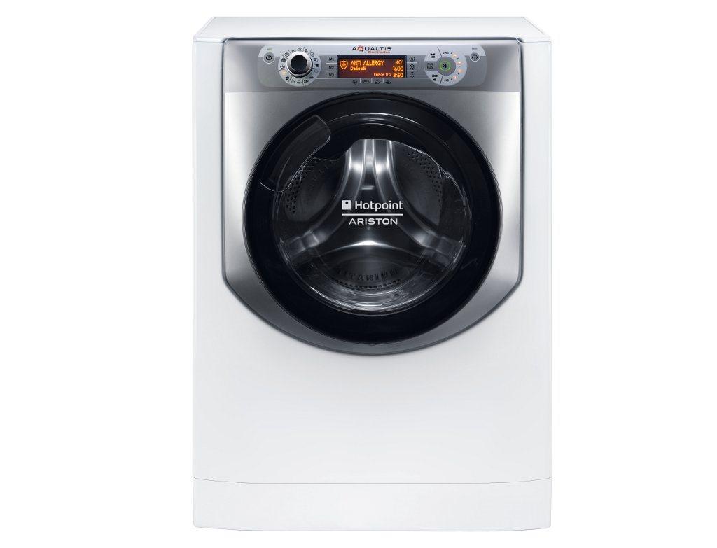 Hotpoint - Ariston Aqualtis AQ114D 697D EU/B + 10 let záruka na motor pračky + Dárek v hodnotě až 490,- Kč ZDARMA !