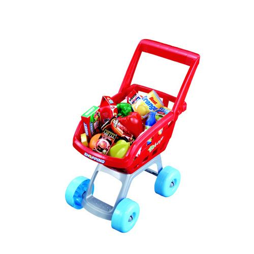 Hrací set G21 Dětská pokladna + nákupní vozík s příslušenstvím