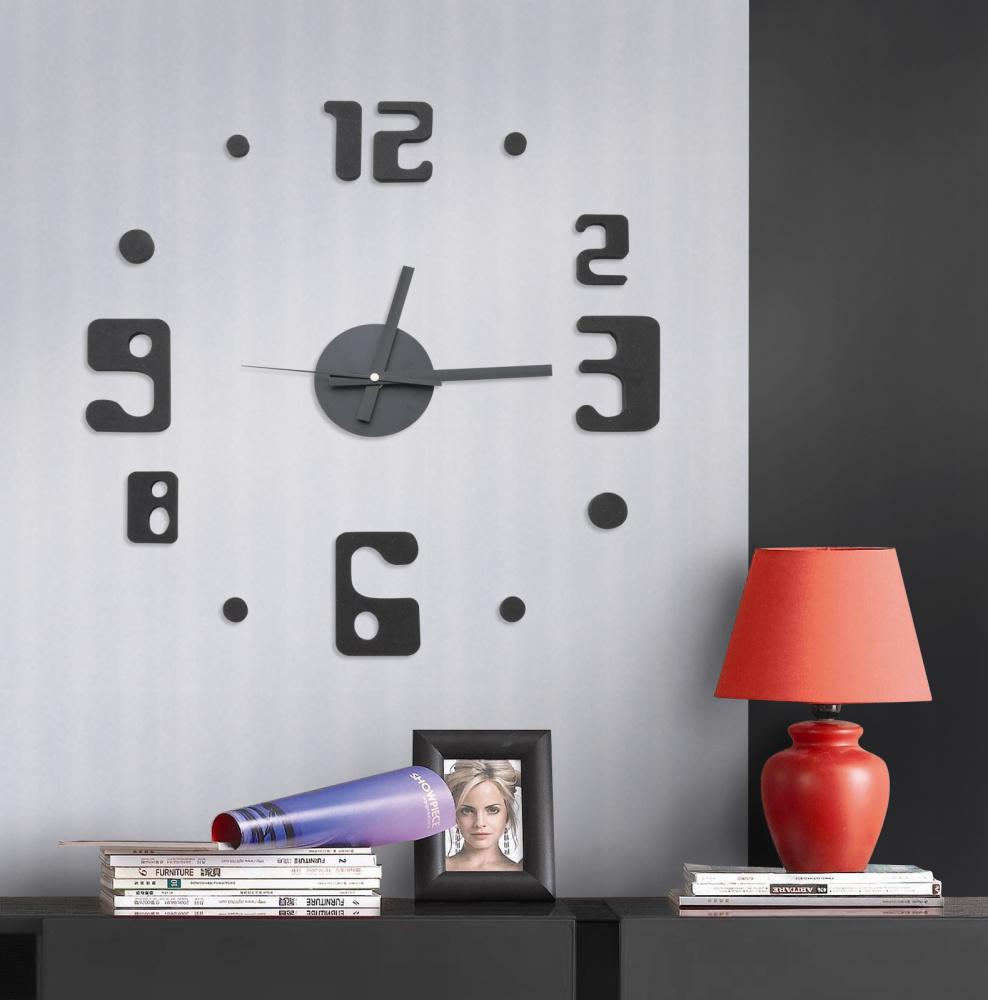 Samolepící hodiny G21 Eccentric Style - pouze ROZBALENO