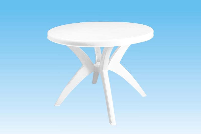 Plastový stůl G21 průměr 92 cm výška 72 cm + doprava zdarma