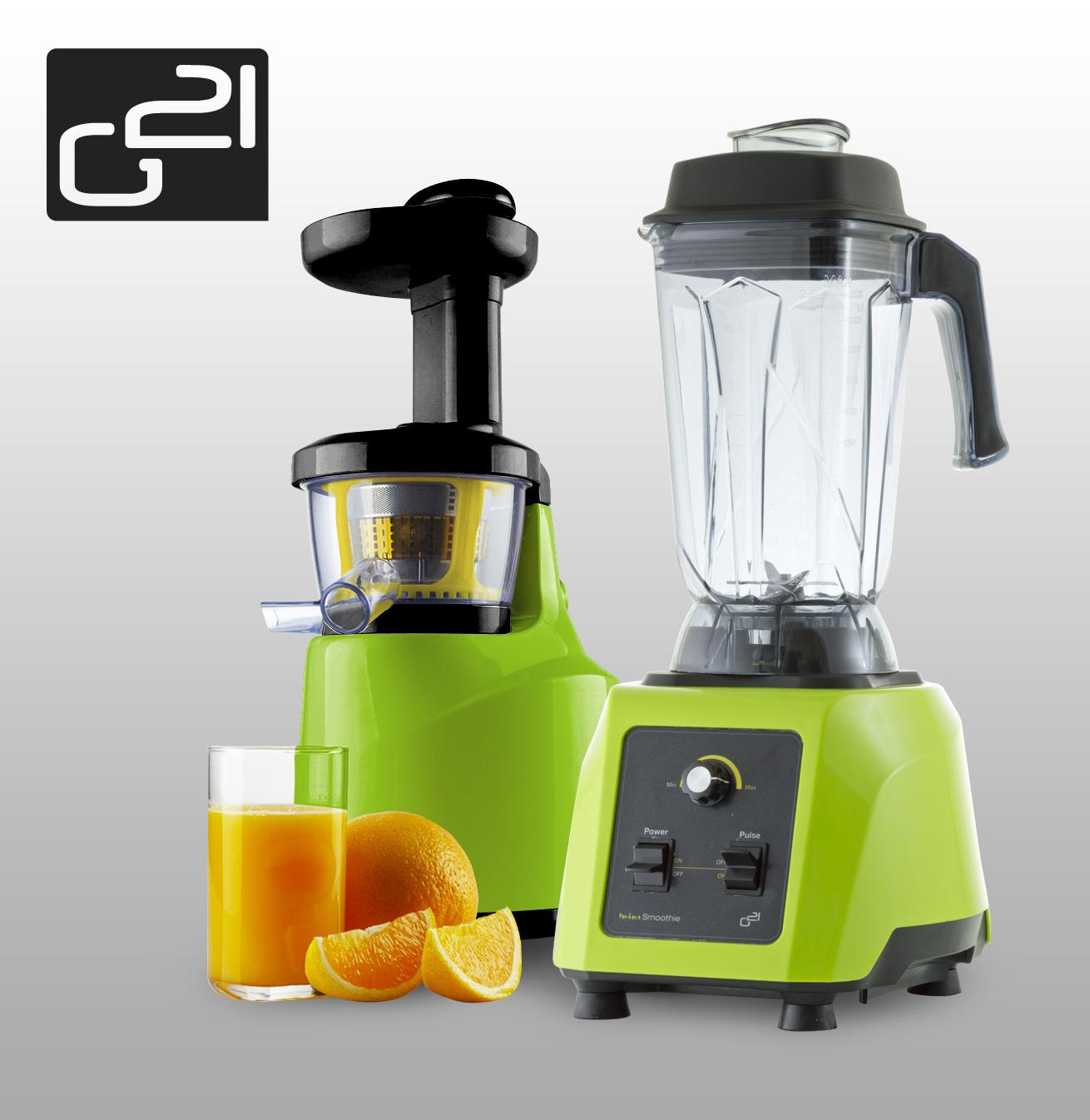 Set G21 blender perfect smoothie + perfect juicer green + doprava zdarma