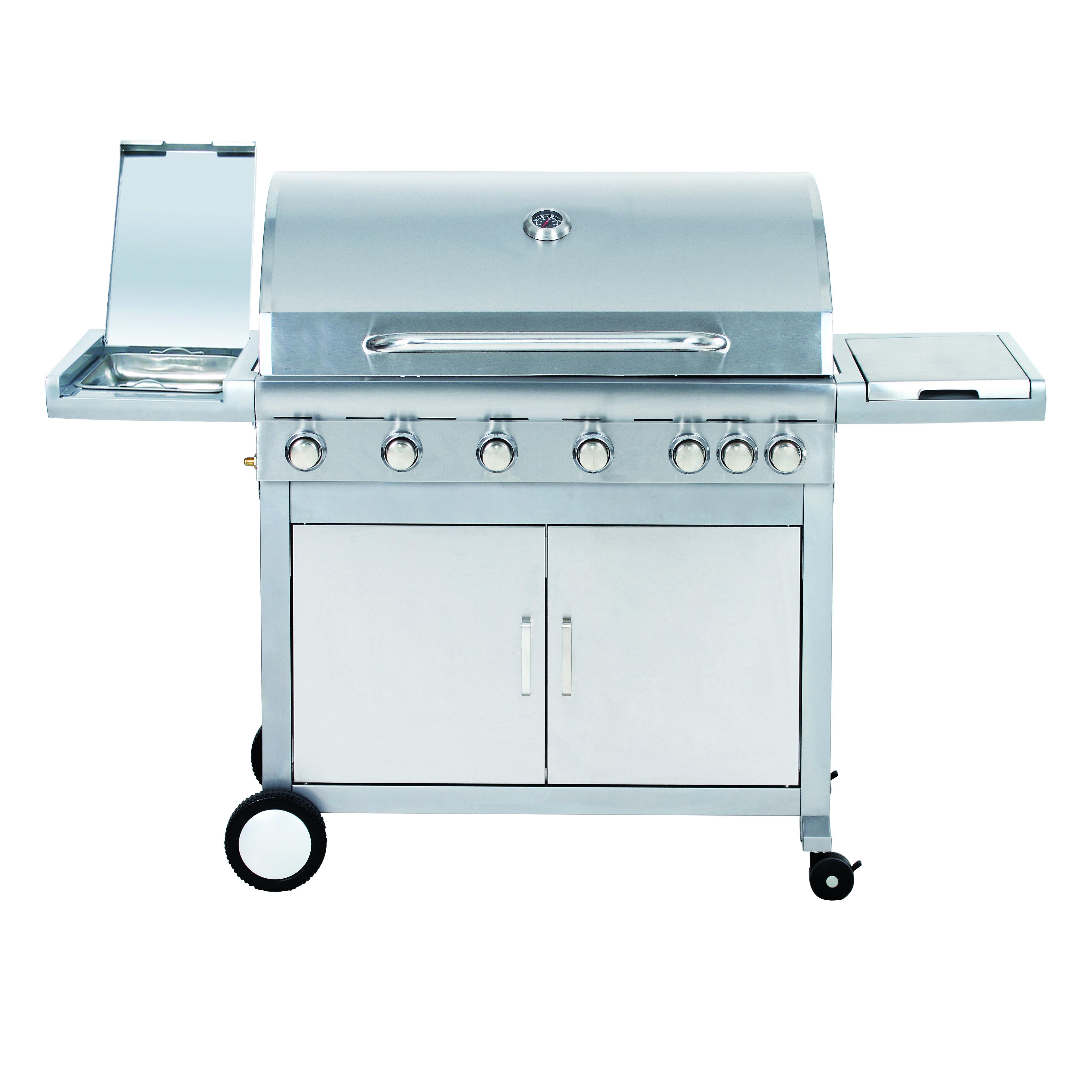Plynový gril G21 Mexico BBQ Premium line, 7 hořáků + zdarma redukční ventil + doprava zdarma