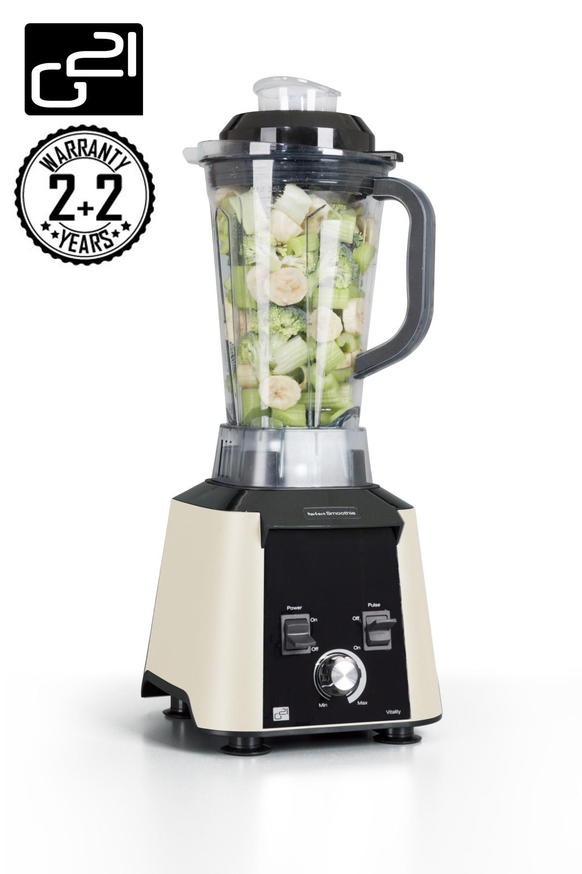 Blender G21 Perfect smoothie Vitality Cappuccino + DÁREK v hodnotě až 799,- Kč ZDARMA ! + doprava zdarma