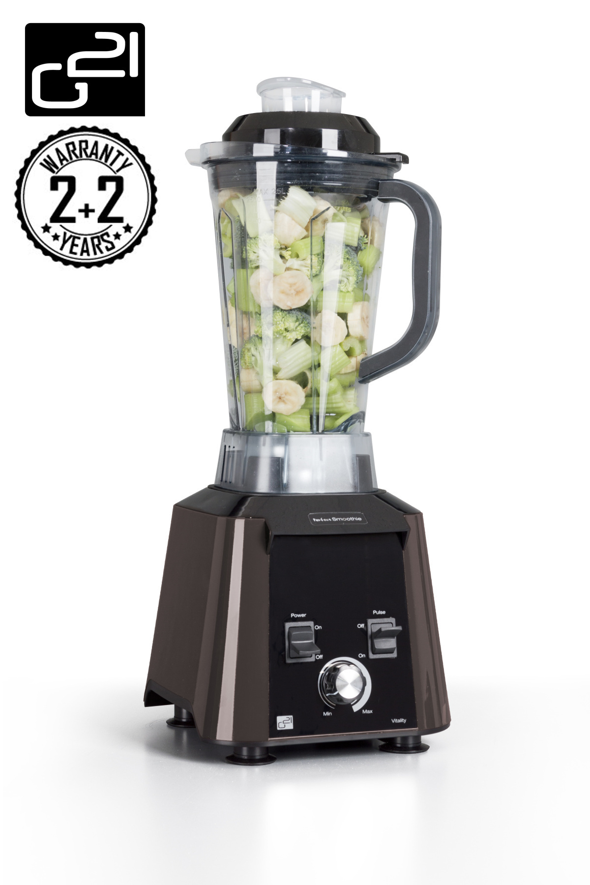 Blender G21 Perfect smoothie Vitality Dark Brown + doprava zdarma