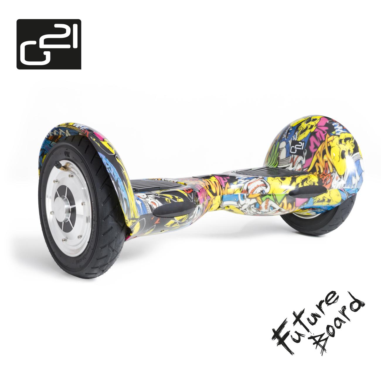 Future board G21 OFF ROAD Street art + doprava zdarma