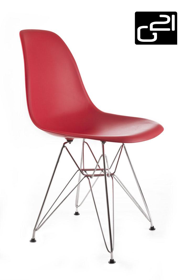 Designová židle G21 Teaser Red + doprava zdarma