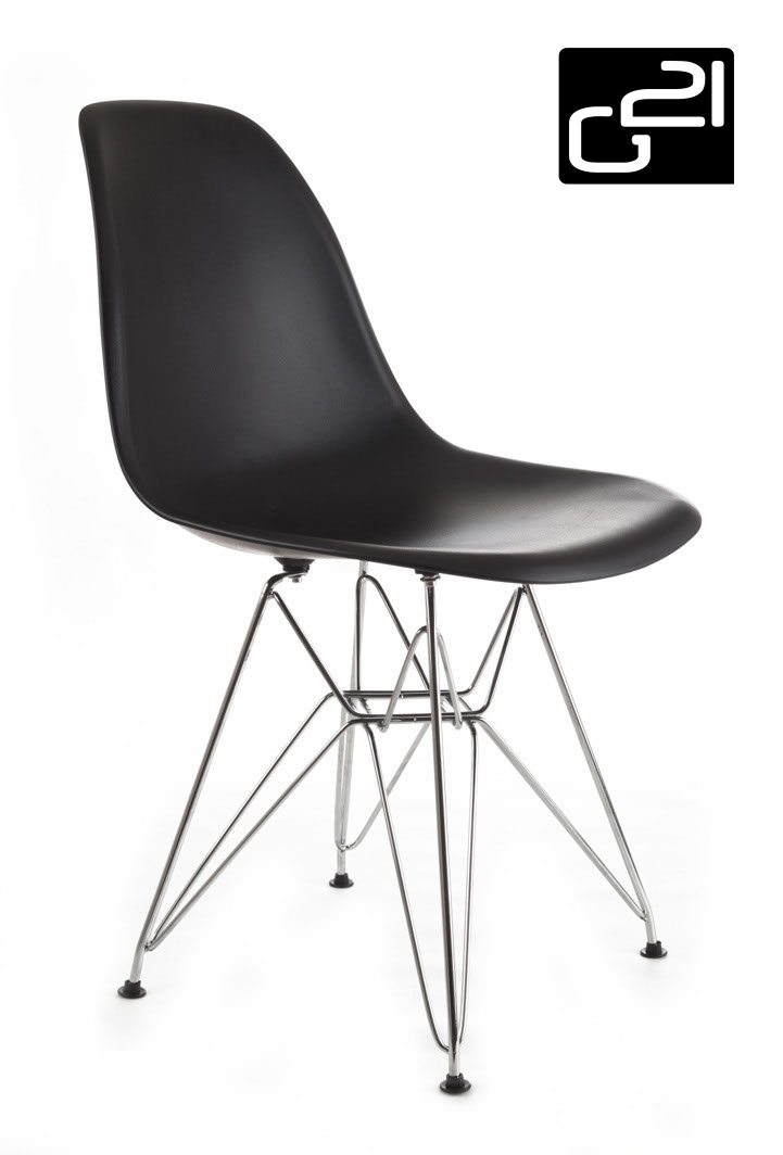 Designová židle G21 Teaser Black + doprava zdarma