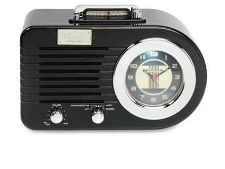 RICATECH PR220 Nostalgic Radio Black + doprava zdarma