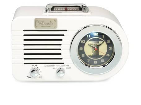 RICATECH PR220 Nostalgic Radio Off White + doprava zdarma