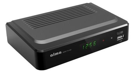 ALMA 2650T2 DVB-T2 HD přijímač HD