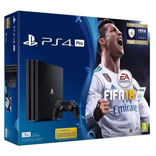 Sony PlayStation 4 Pro - 1TB + Fifa 18 + doprava zdarma