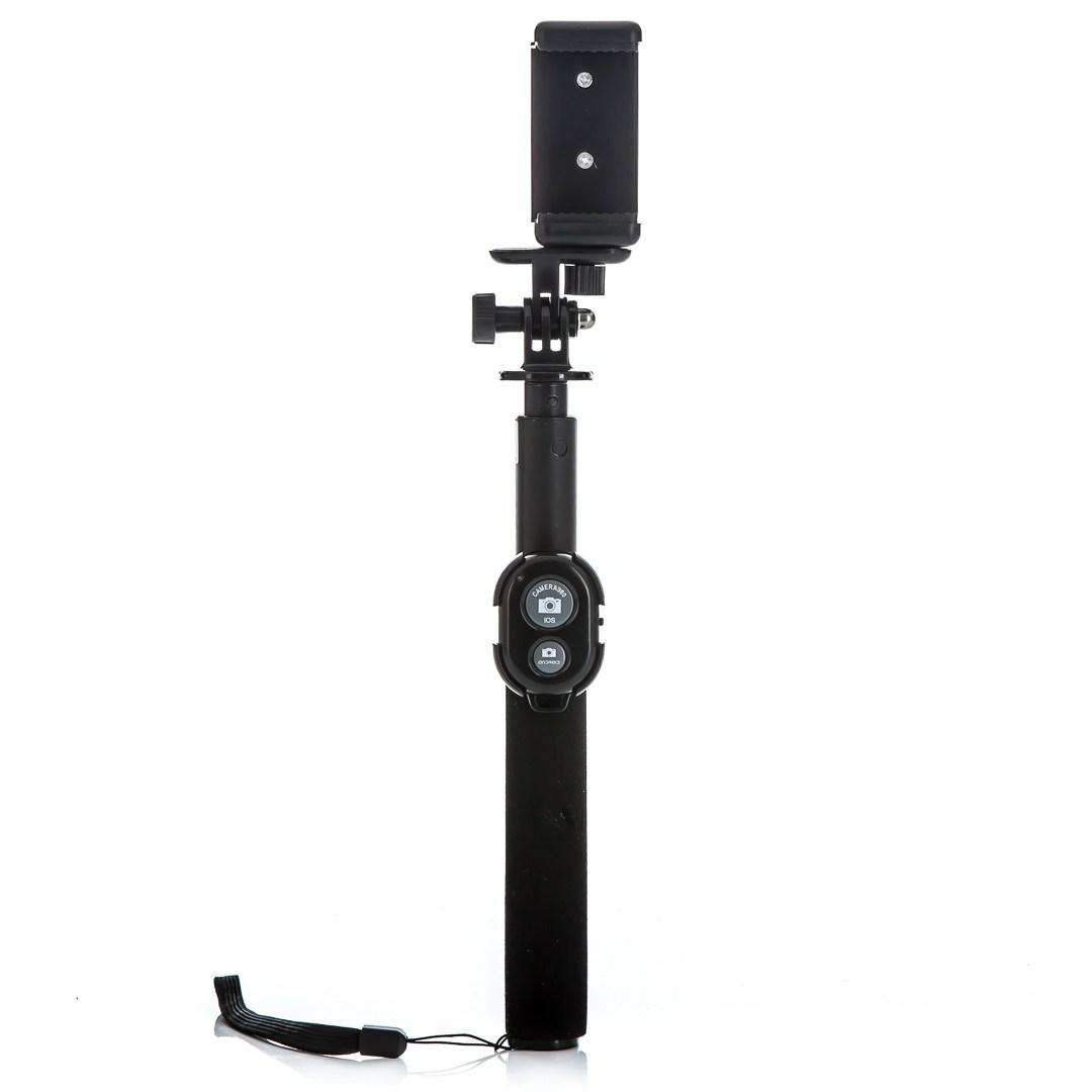 MadMan Selfie tyč PREMIUM RC 80 cm černá (monopod)