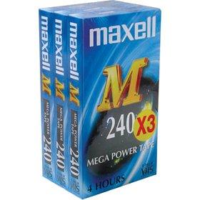 E-240M videokazeta VHS 3PK MAXELL