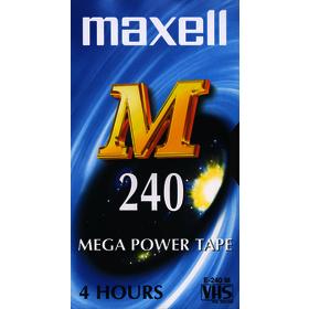 E-240M videokazeta VHS 223105 MAXELL