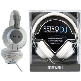 303517 RETRO DJ WHITE SLUCHÁTKA MAXELL