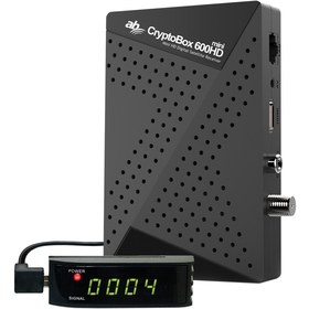 AB CryptoBox 600HD mini AB CRYPTOBOX + doprava zdarma