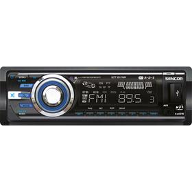 SCT 3017MR AUTORÁDIO S USB/SD/RDS SENCOR + doprava zdarma