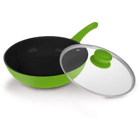 LAMART K2870 GB Keramická wok pánev + doprava zdarma