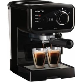 SES 1710BK Espresso SENCOR + doprava zdarma