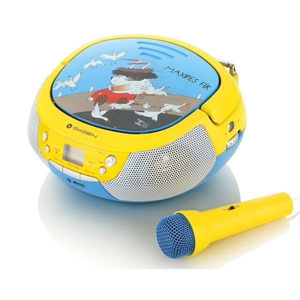 Radiopřijímač GoGEN MAXIPREHRAVAC B s CD/MP3/USB, modrá/žlutá + doprava zdarma