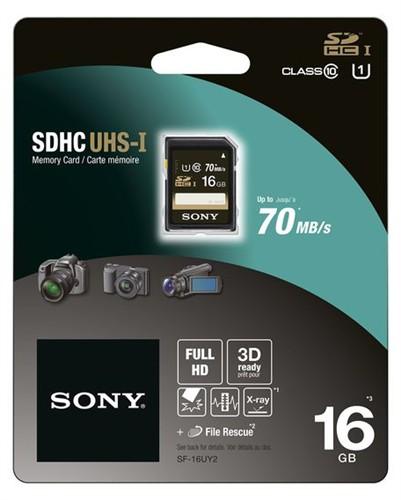 Sony SDHC 16GB Class 4 UHS-I SF16U + doprava zdarma
