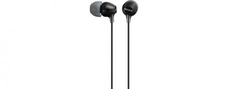 SONY sluchátka MDR-EX15LP, černá + doprava zdarma