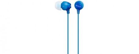 SONY sluchátka MDR-EX15LP, modrá