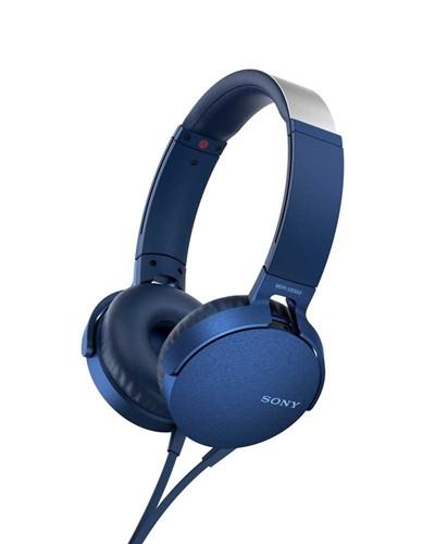 Sony MDR-XB550AP, modrá + doprava zdarma
