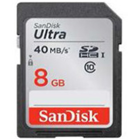 SDHC 8GB CL10 40MBs UHS-I ULTRA SANDISK