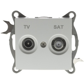 Retlux RSB P36 Penny zásuvka TV + SAT + doprava zdarma