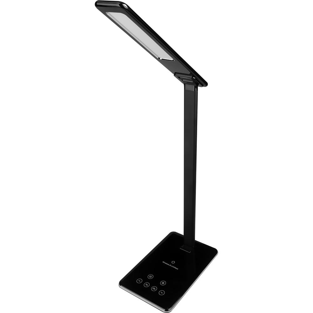 RETLUX RTL 198 stm.LED lampa černá Qi 5W