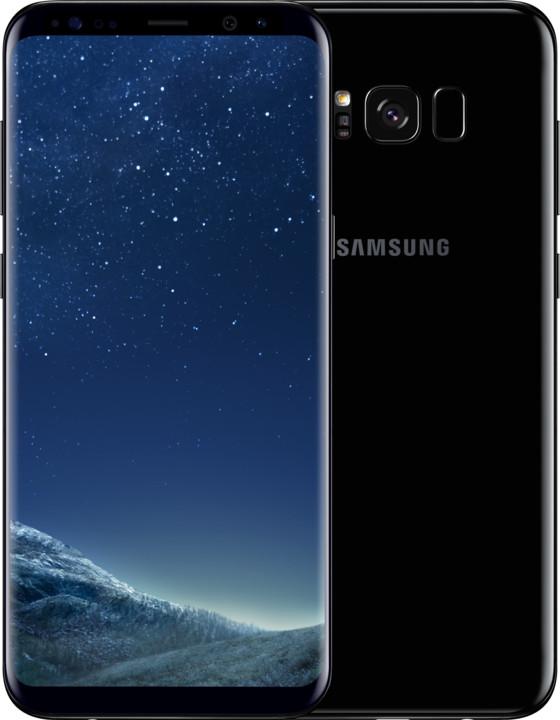 SAMSUNG SM G955 Galaxy S8+Midnight Black + doprava zdarma