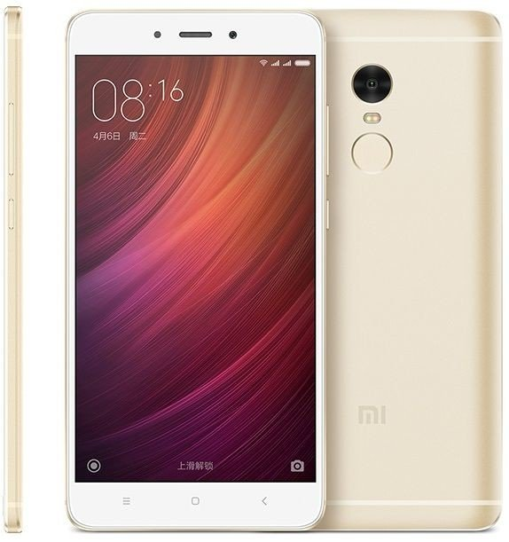 Xiaomi Redmi Note 4 3GB/32GB Global Gold + doprava zdarma