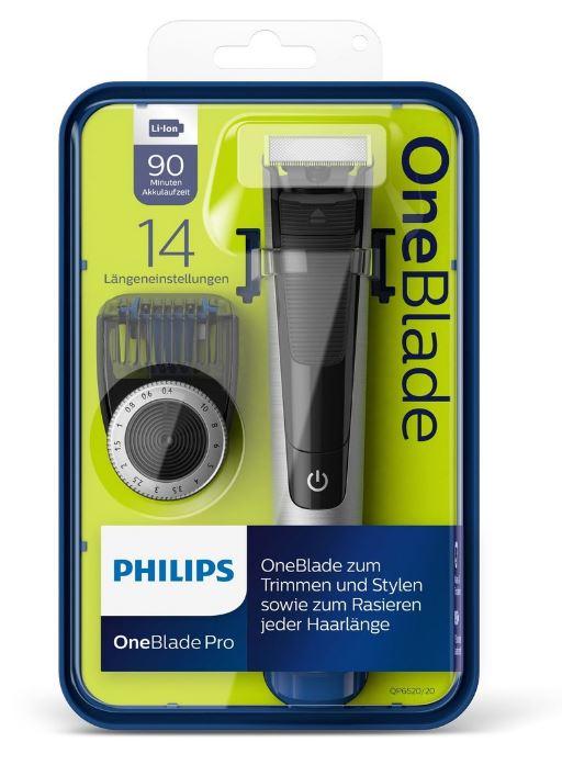 Philips OneBlade QP6520/20 zastřihovač vousů