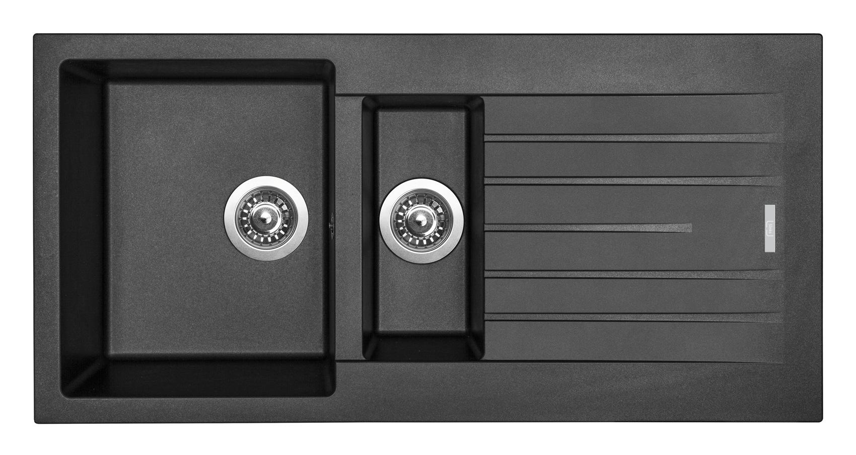 Sinks PERFECTO 1000.1 Metalblack (záruka 5 let)