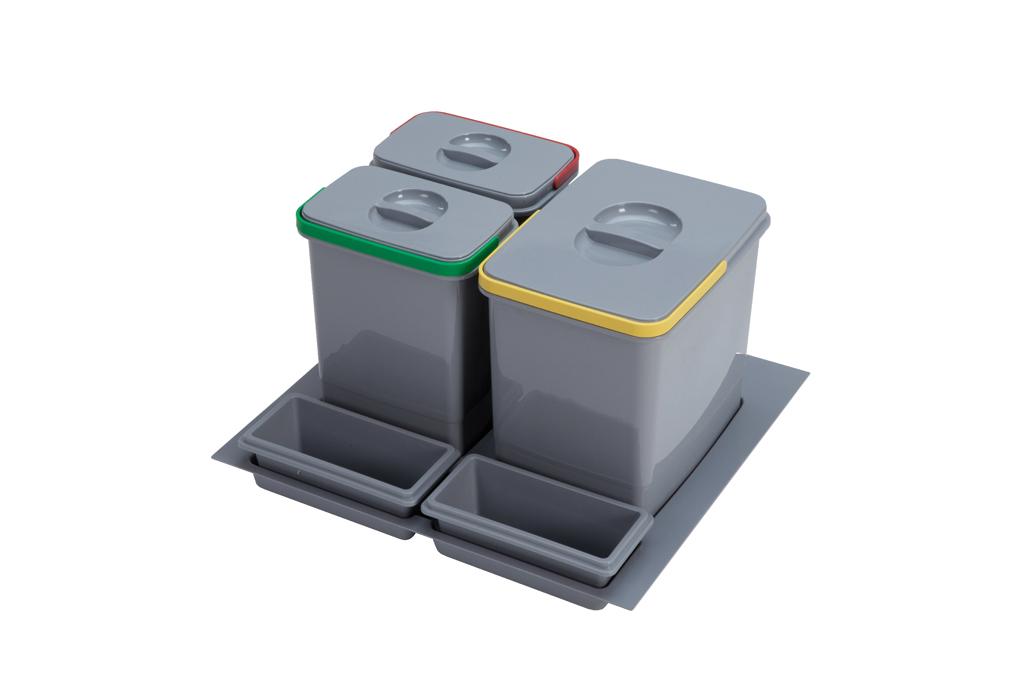 Sinks PRACTIKO 600 1x15l+2x7l