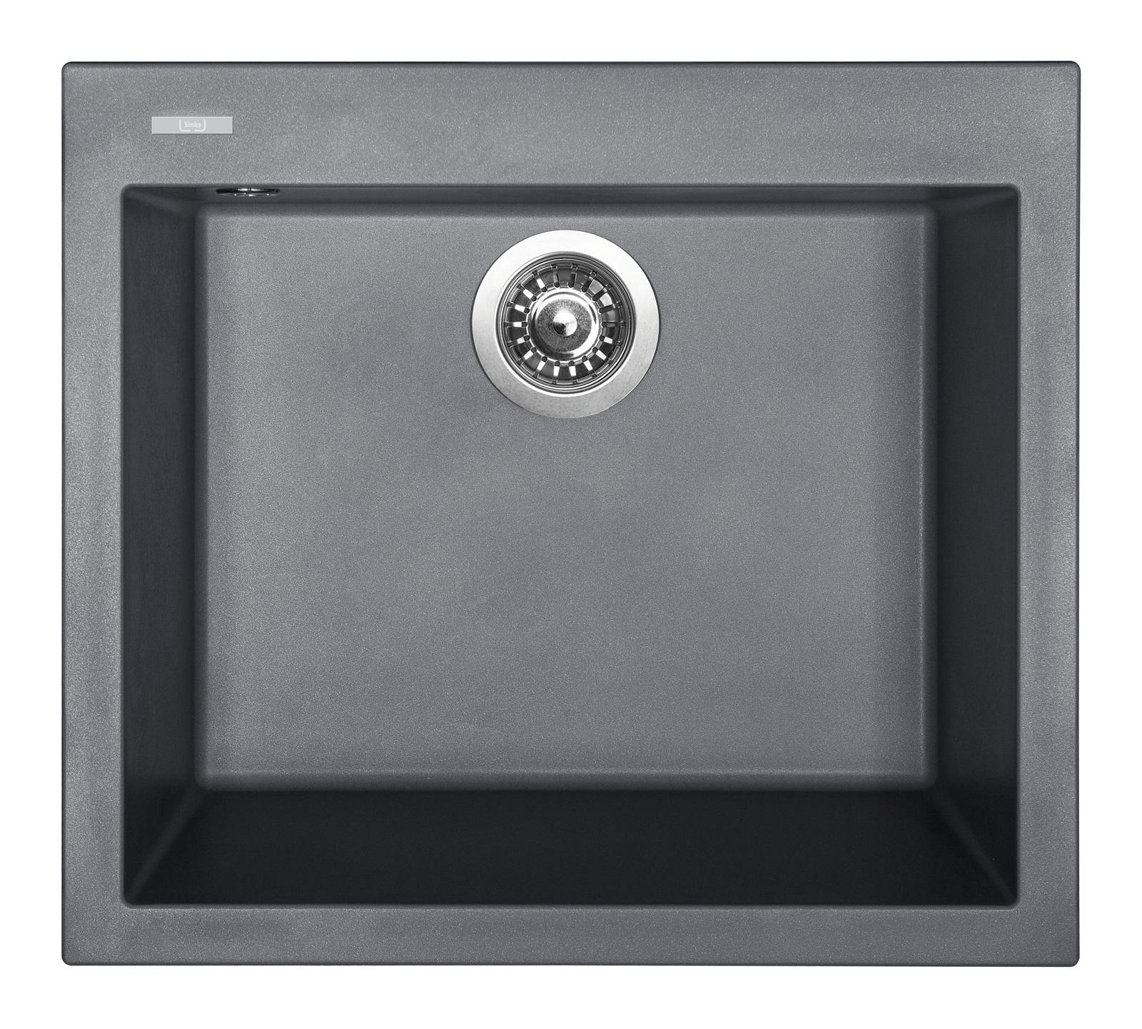 Sinks CUBE 560 Titanium