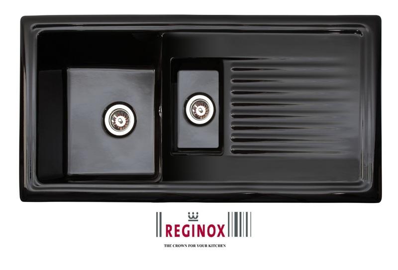 Reginox RL 401 CB černá keramika + doprava zdarma