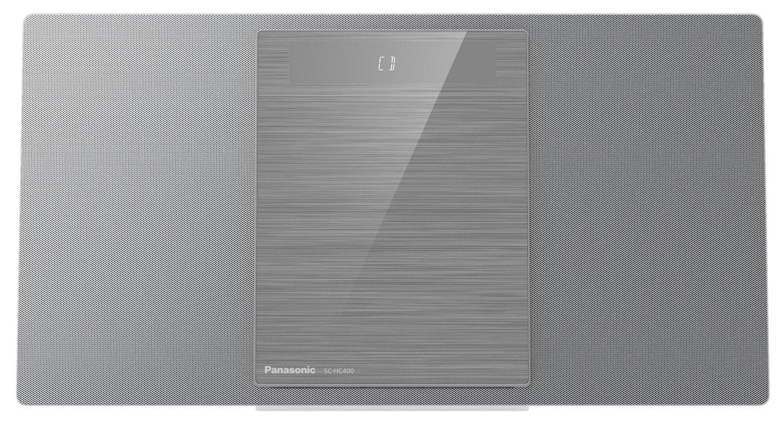 Panasonic SC-HC400EG-S, stříbrná + doprava zdarma