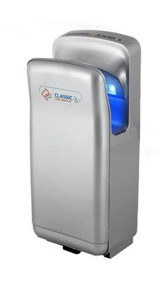 Vysoušeč rukou Jet Dryer Classic Stříbrný + doprava zdarma